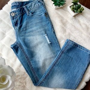 Maurice's Cropped Slim Fit Jean